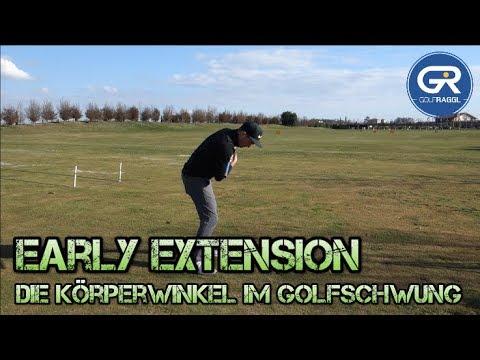 EARLY EXTENSION - DIE KÖRPERWINKEL IM GOLFSCHWUNG - GOLF TECHNIK