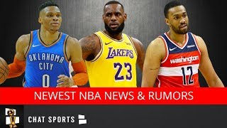 NBA News & Rumors: Russell Westbrook Trade Latest, Warriors Moves, LeBron To Point Guard & Signings