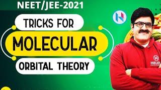 Tricks of Molecular Orbital Theory, Part-I (IITJEE Mains/Advance/AIIMS/NEET/XI/XII)