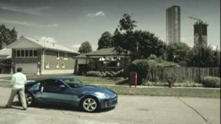 Nissan 350Z Commercial in Canada