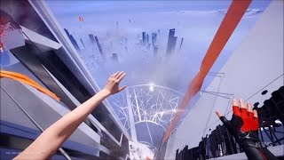 Mirror's Edge Catalyst - Climbing The Highest Building | The Shard | Free Running (HD) [1080p60FPS]