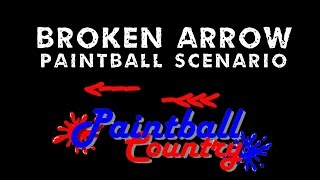 Broken Arrow Paintball Scenario at Paintball Country Ohio Woodsball Sniper