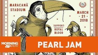 download musica Pôster de show do Pearl Jam gera discussão no RJ