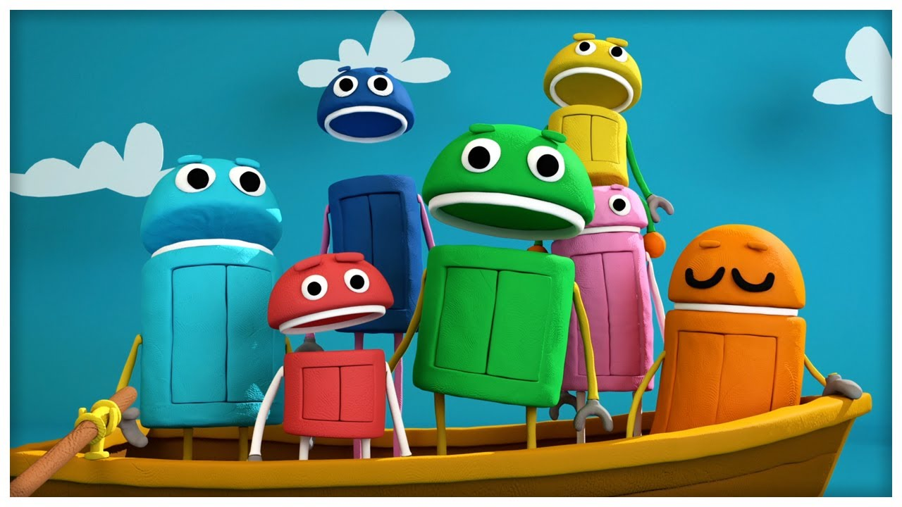 quotrow your boatquot classic songs by storybots youtube
