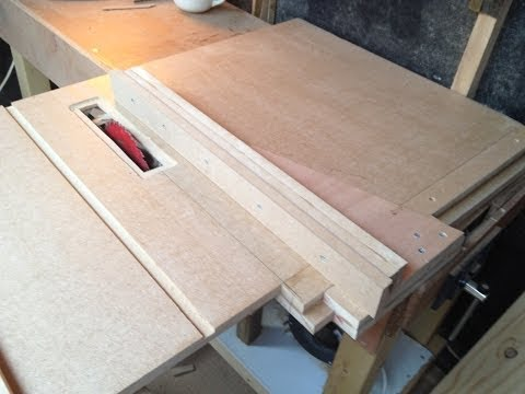 How To Make Homemade Table Saw #2 (The Fence)