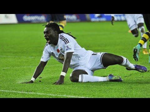 Bafetimbi Gomis ● All Goals ● Swansea ● 2014-2016 HD