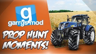 Garrys Mod Prop Hunt Funny Moments! - 500K, Our Own Map, Stupid Richter Scale, Pool Table Fun!