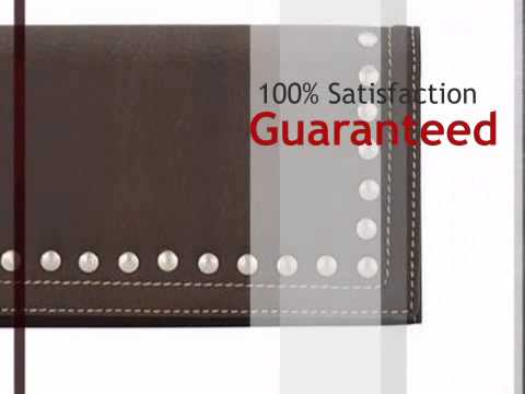 Signature Totes Ladies Flap Wallet   Chocolate   Lonestarwesterndecor.com