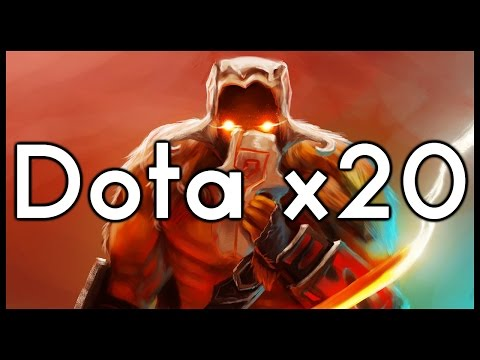 Dota 2 Mods   BLOODTHORNE = OP!!   Baumi plays Power Multiplier x20