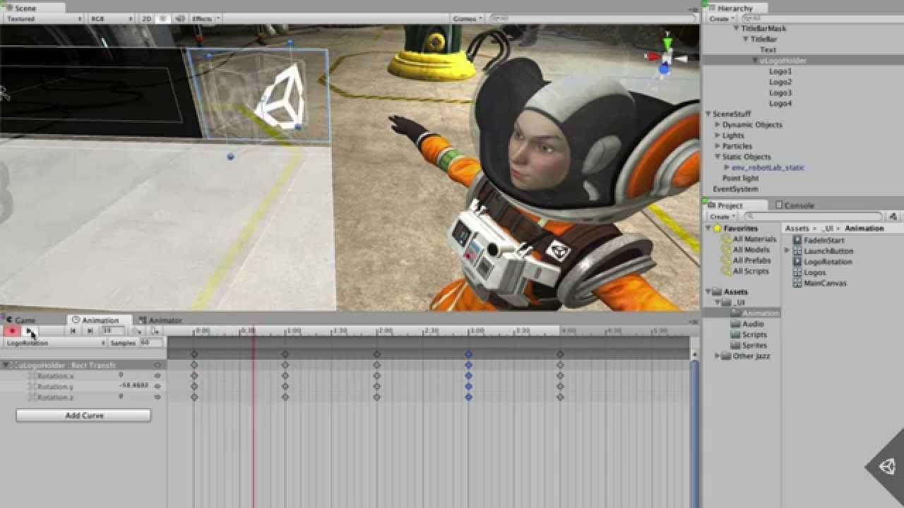Unity 3d как сделать
