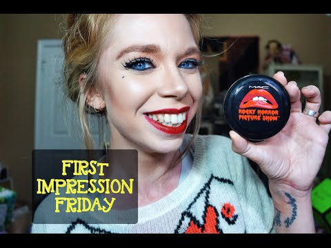 ROCKY HORROR MAC COLLECTION - FIRST IMPRESSION FRIDAY