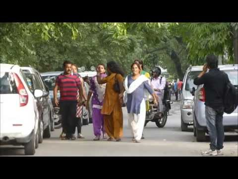 Fake Hijra  Caught And Taken Away By Real Hijra Of The Area, New Delh   Panasonic Tz30 Video video