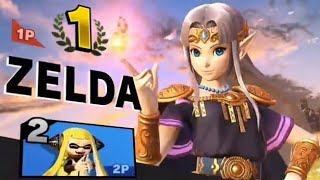 Smash Ultimate : All Zelda Victory Screens & Colors + Possible Color References