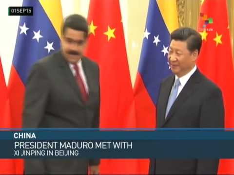 Venezuela: Maduro Signs Chinese Loan