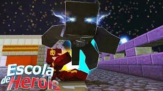 Minecraft: A BATALHA FINAL - FLASH VS ZOOM #111 ( ESCOLA DE HEROIS )