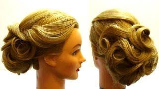 Причёски видео уроки мастеров на выпускной
