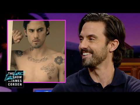 Milo Ventimiglia Got Tatted Up for a Fergie Video