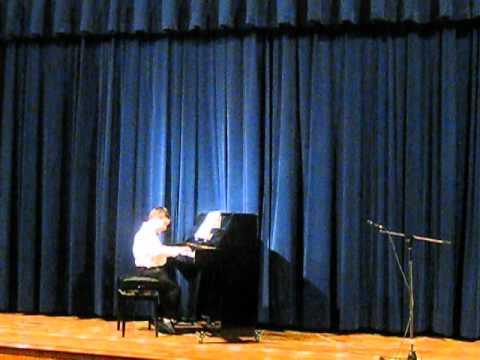 LES DEUX JONGLEURS par KRISTIAN GHAZARYAN   YOUNG PIANISTS' ANNUAL CONCERT 08 06 2012, MONTRÉAL