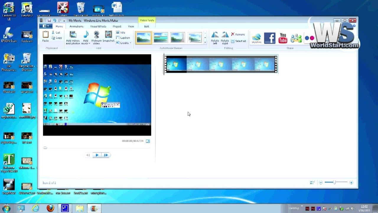 Files supported by windows movie maker