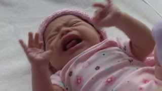 Baby - New Born - Infant -Crying Baby - Stock Footage