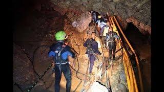 18 thợ lặn đã vào hang, dự kiến 21h đưa được thành viên đầu tiên ra ngoài  - Tin Tức VTV24
