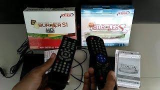 Perbandingan Receiver Matrix Burger S1 Dan Burger S2 HD PVR