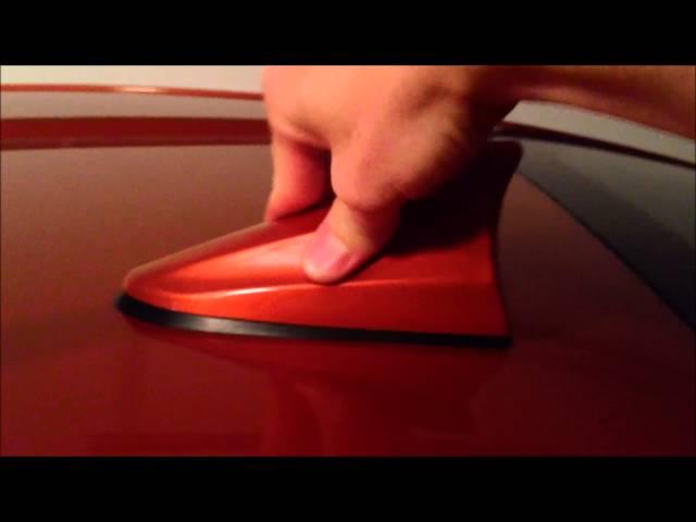 Scion FR-S Beatsonic Shark Fin Antenna Install - YouTube