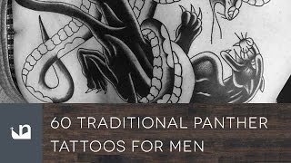 60 Traditional Panther Tattoos For Men