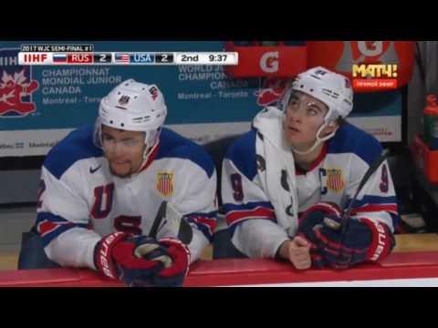 РОССИЯ - США 3-4 | ХОККЕЙ МЧМ-2017 | ОБЗОР МАТЧА | 04.01.2017