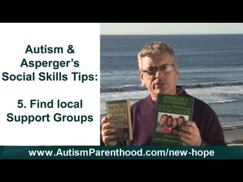 Social Skills - Autism / Asperger's Syndrome Support Groups