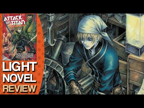 Attack on Titan Before the Fall Light Novel Review