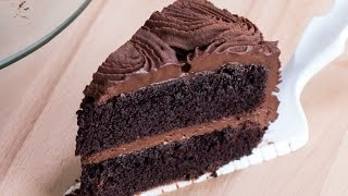 Chocolate Rose Cake Recipe