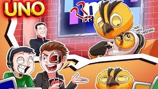 VANOSS...YOU ARE THE FATHER (UNO Funny Moments)