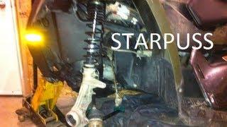 Polaris Sportsman 500 800 Front Wheel Bearing Replacement 2008 - 2011