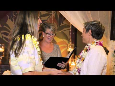 Hawaii's First Same-sex Couples Tie Knot video