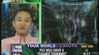 SONY Computer Entertainment ( Chairman ) - Kazuo Kaz Hirai  on Neil Cavuto ( Circa 2005 )