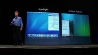 Apple WWDC 2006-Windows Vista Copies Mac OS X