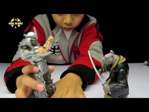 TMNT  Destructor / Shredder Figura de acción de película Tortugas Ninja 2014 / Español