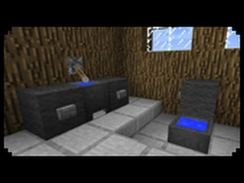 Minecraft How To Make A Sink Improved Version Youtube
