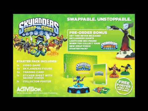Skylanders Swap Force Starter Pack and Game Screenshots