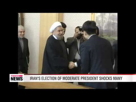 Iran elects moderate Hassan Rouhani as president 이란 새 대통령... 로우하니 당선