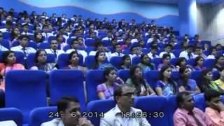 Mr. Suraj Narain Delivers A Lecture At SBS, Pune