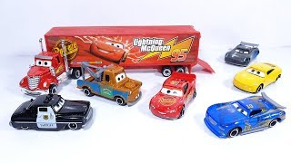 Car Toys Vehicle Disney Pixar Cars Mack Truck Hauler Lightning Mcqueen  Car Carry Case
