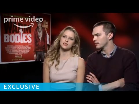 Nicholas Hoult and Teresa Palmer Warm Bodies interview