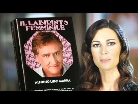 Il labirinto femminile – Manuela Arcuri presenta il nuovo libro di Alfonso Luigi Marra