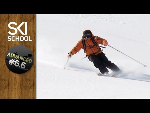 How To Ski Powder - Advanced Ski Lesson #6.6