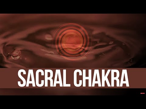 Chakra 2 Sacral - Swadhisthana, Genital, Sexual Chakra, Orange Visualization video