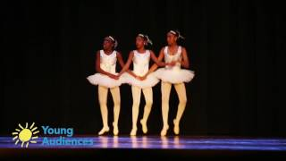 Young Audiences Charter School's Ballet Trio