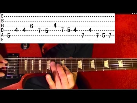 LED ZEPPELIN - BLACK DOG ( 1 of 2 ) - How to Play - Free Online Guitar Lessons With Tabs