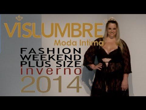 Vislumbre - Desfile Fashion Weekend Plus Size INVERNO 2014 - 9ª Edição